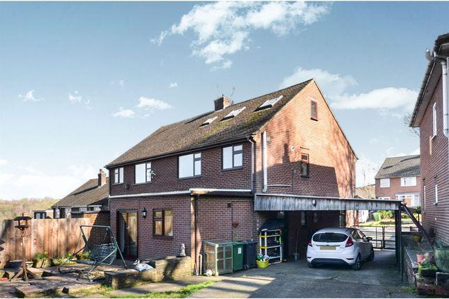 Thumbnail Semi-detached house for sale in Hawkins Drive, Ambergate, Belper