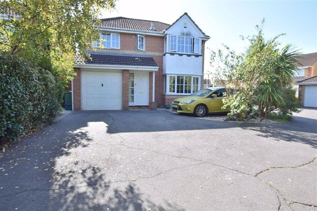 Thumbnail Detached house for sale in Hayward Close, Abbeymead, Abbeymead Gloucester
