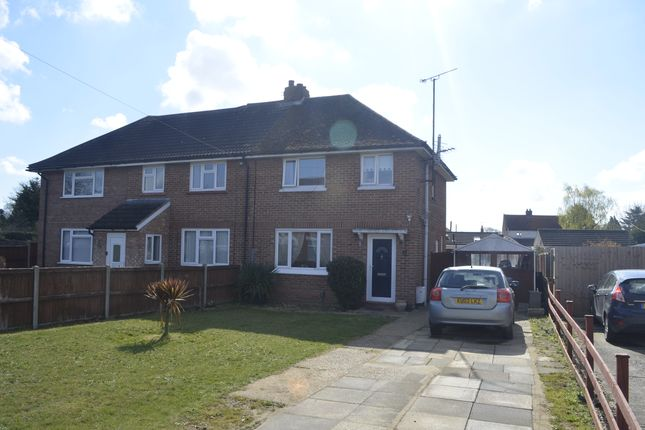 2 bed semi-detached house for sale in Mill Lane, Trimley St. Martin, Felixstowe IP11