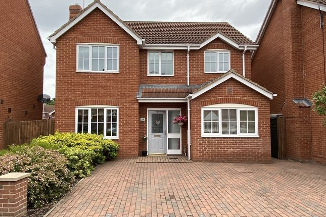 Thumbnail Detached house for sale in Stirling Drive, Coddington, Newark, Nottinghamshire.