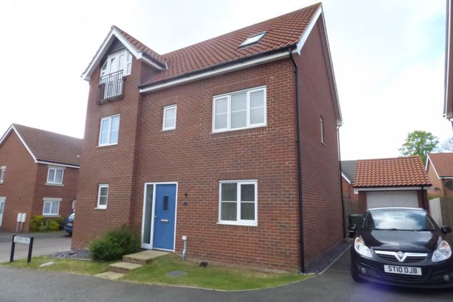 Thumbnail Detached house for sale in Jasmine Walk, Cringleford