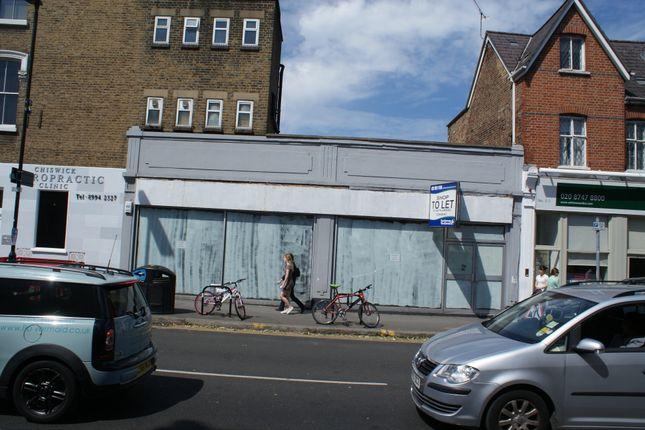Thumbnail Retail premises to let in Turnham Green Terrace, Chiswick