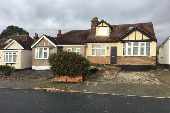 Thumbnail Semi-detached bungalow to rent in Hillfoot Road, Romford