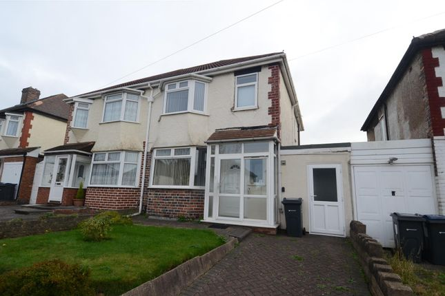 Thumbnail Semi-detached house for sale in Twyford Road, Ward End, Birmingham