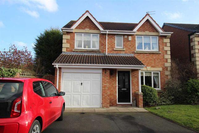 Thumbnail Detached house for sale in Lapford Drive, Northburn Green, Cramlington