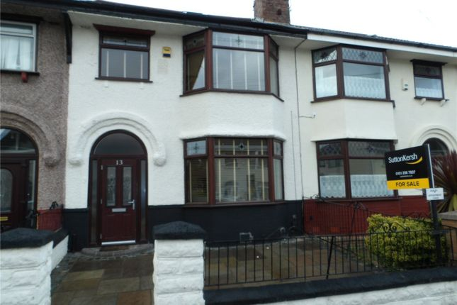 Thumbnail Terraced house for sale in Alvanley Road, West Derby, Liverpool