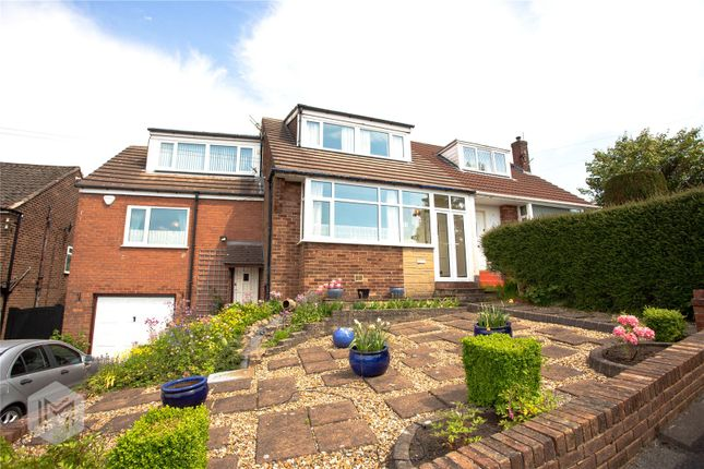 Thumbnail Semi-detached house for sale in Gleaves Avenue, Harwood, Bolton