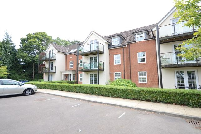 Thumbnail Flat to rent in The Coppice, Church Crookham, Fleet