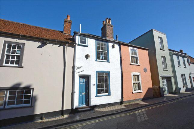 Thumbnail Terraced house for sale in Captains Row, Lymington, Hampshire
