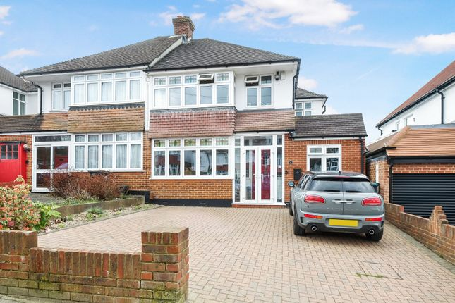 Thumbnail Semi-detached house for sale in Cloonmore Avenue, Farnborough, Orpington