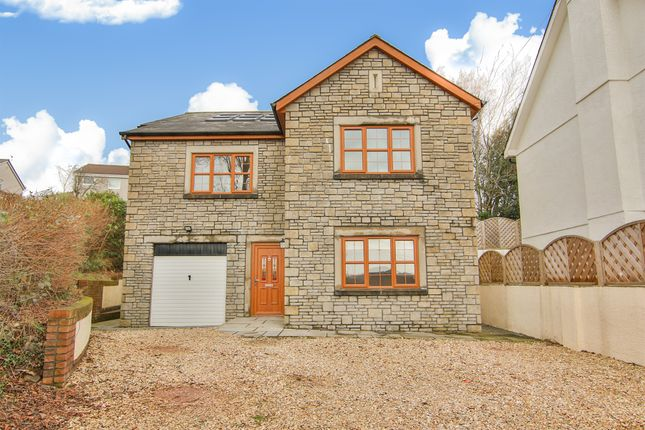 Thumbnail Detached house for sale in Church Road, Tonteg, Pontypridd