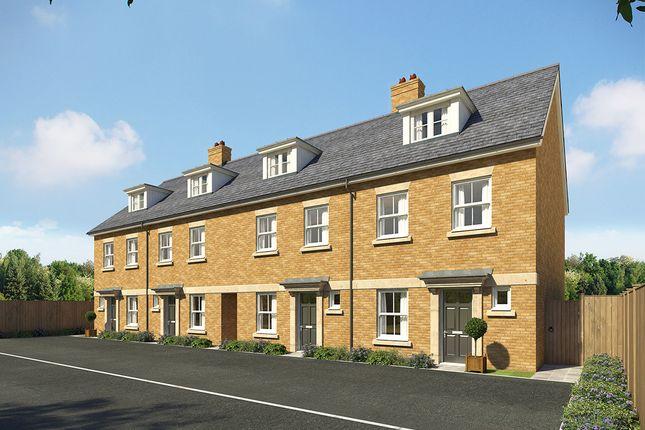 "Thumbnail Terraced house for sale in ""Wellington Grand"" at Southfleet Road, Ebbsfleet"