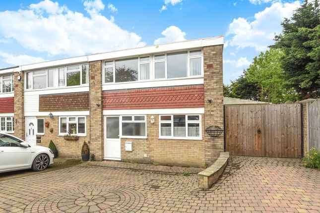 Thumbnail End terrace house to rent in 11 Gleneagles Close, Staines
