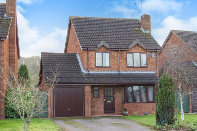 Thumbnail Detached house for sale in Dovehouse Drive, Wellesbourne, Warwick