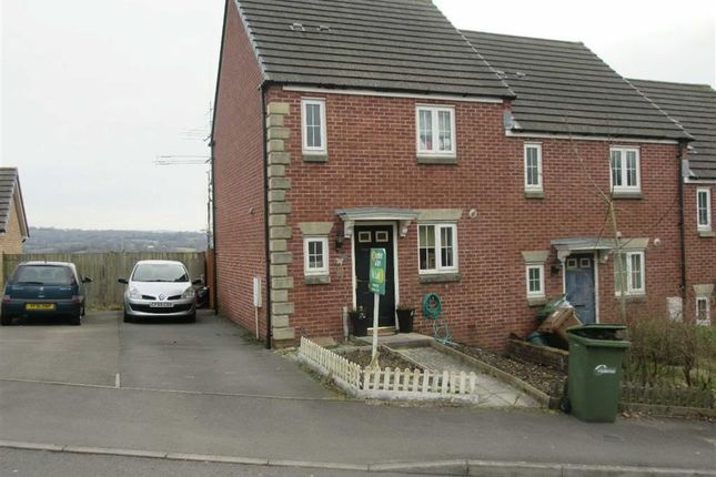 Thumbnail Semi-detached house to rent in Field Close, Pontllanfraith, Blackwood
