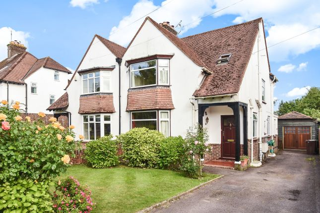 Thumbnail Semi-detached house for sale in Woodbury Avenue, Petersfield