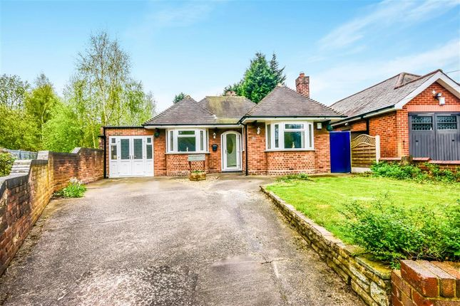 Thumbnail Detached bungalow for sale in Woden Road East, Wednesbury