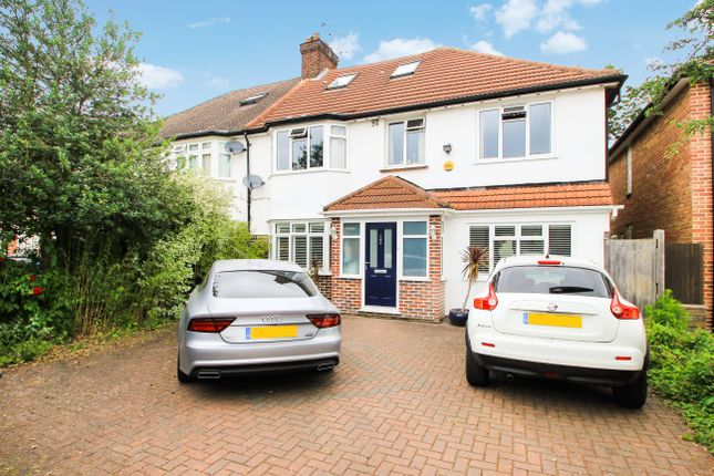 Thumbnail Semi-detached house to rent in Clarence Avenue, New Malden, Surrey