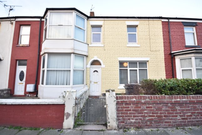 Thumbnail Terraced house to rent in Eaves Street, Blackpool, Lancashire