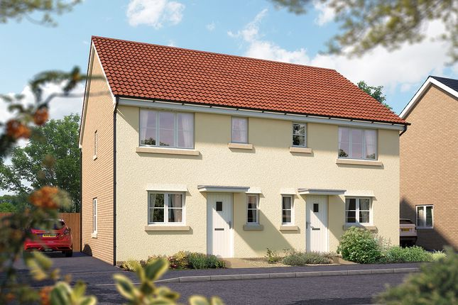 "Thumbnail Semi-detached house for sale in ""The Southwold"" at Valerian Gardens, Soham, Ely"