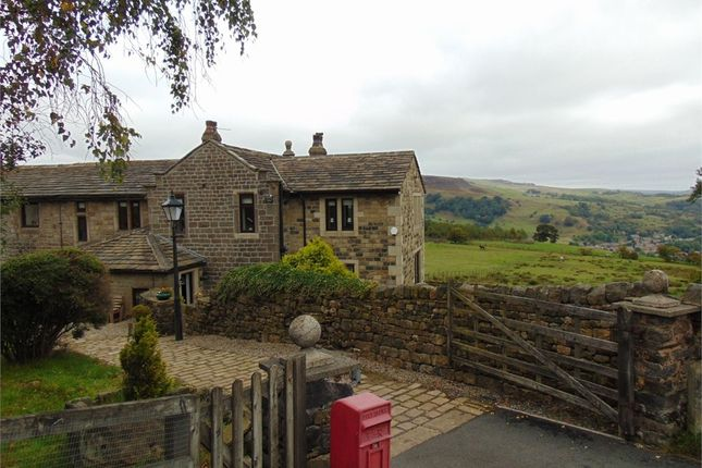 Thumbnail Semi-detached house for sale in Flower Scarr Road, Todmorden, West Yorkshire