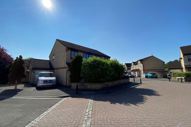 Thumbnail Semi-detached house for sale in Pennycress, Weston-Super-Mare