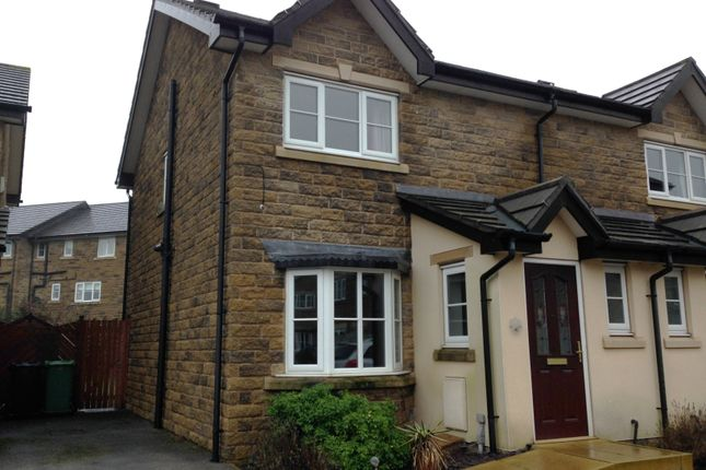 Thumbnail Semi-detached house to rent in Baildon Way, Skelmanthorpe, Huddersfield