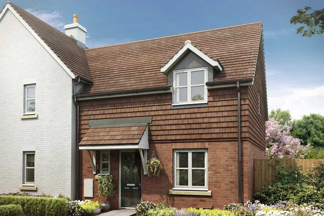 "Thumbnail Semi-detached house for sale in ""The Elliot"" at Crow Lane, Crow, Ringwood"