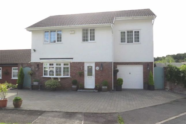 Thumbnail Detached house for sale in Maes Glas, Coed-Y-Cwm, Pontypridd