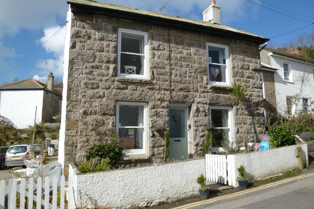 Thumbnail End terrace house for sale in Duck Street, Mousehole, Penzance