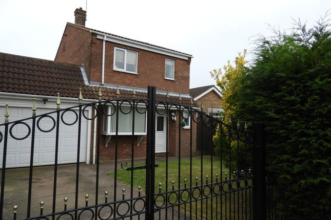 Thumbnail Detached house for sale in Webster Close, Rainworth, Mansfield
