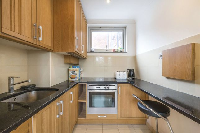 Kitchen of Silsoe House, 50 Park Village East, London NW1