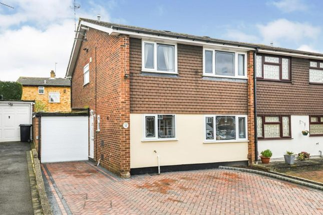 Thumbnail Semi-detached house for sale in North Weald, Essex