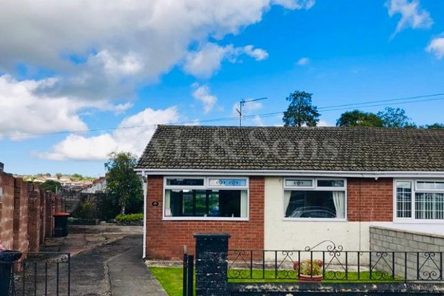 Thumbnail Semi-detached bungalow for sale in Eastmoor Road, Lliswerry, Newport.