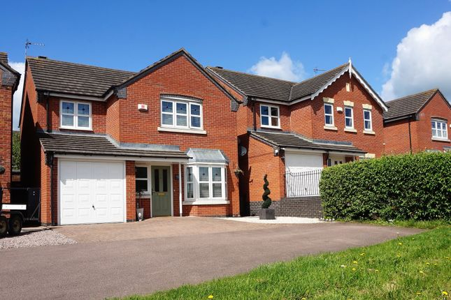 Thumbnail Detached house for sale in Springfield Road, Sileby