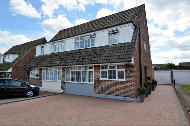 Thumbnail Semi-detached house for sale in Lime Grove, Brentwood