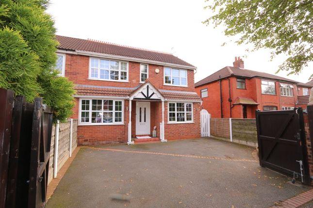 Thumbnail Semi-detached house for sale in Dane Road, Denton, Manchester