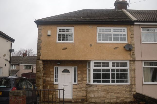 Thumbnail Semi-detached house to rent in Bromford Road, East Bowling, West Yorkshire