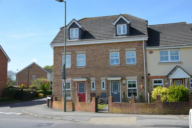 Thumbnail Town house for sale in Frimley Green Road, Frimley Green, Surrey