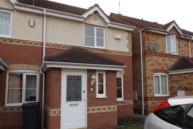 Thumbnail Terraced house to rent in Celandine Way, Bedworth