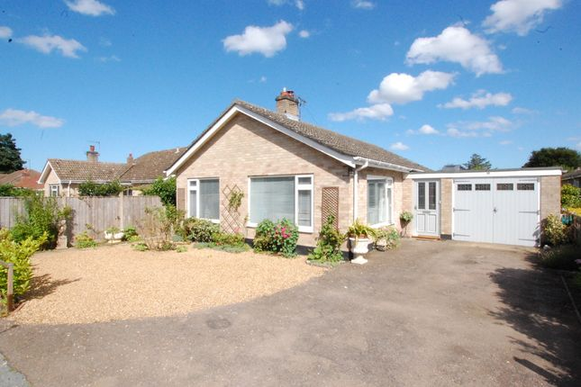 Thumbnail Detached bungalow for sale in Homefield Paddock, Beccles