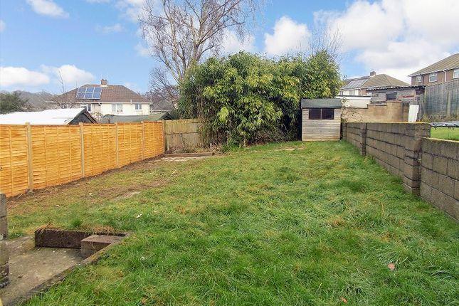 Rear Garden of Heol Las, Pencoed, Bridgend. CF35