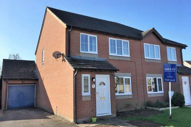 Thumbnail Semi-detached house for sale in Virginia Orchard, Ruishton, Taunton, Somerset