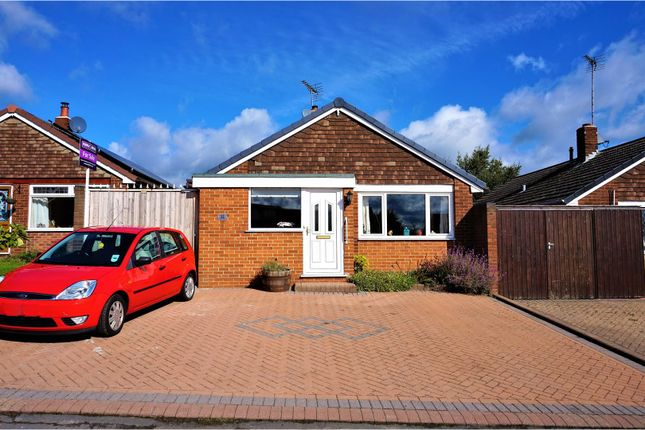 Thumbnail Detached bungalow for sale in Renshaw Drive, Newhall, Swadlincote