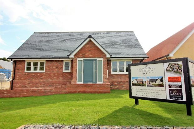 Thumbnail Detached bungalow for sale in Walton Road, Kirby Le Soken, Frinton On Sea