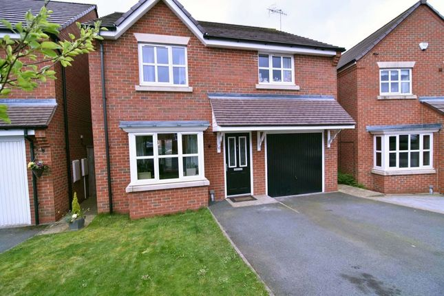 Thumbnail Detached house for sale in Hatherton Avenue, Brindley Village, Stoke-On-Trent