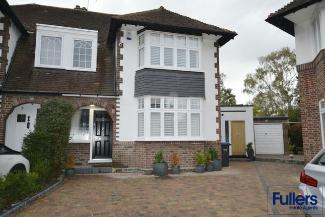 Semi-detached house to rent in Yew Tree Close, Winchmore Hill