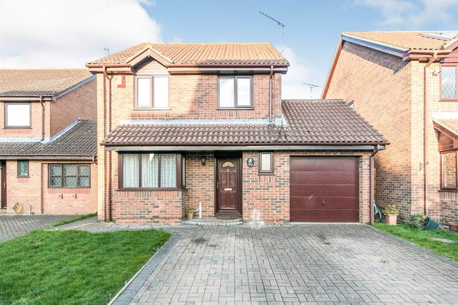 Thumbnail Detached house for sale in Northfield Gardens, Highwoods, Colchester