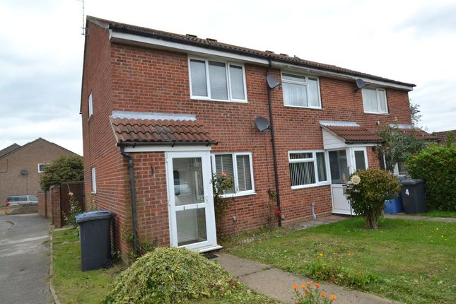 Thumbnail End terrace house for sale in Gowers End, Glemsford, Sudbury