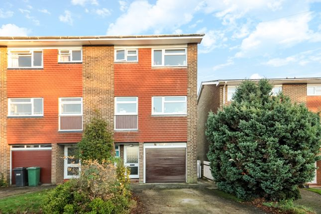 Thumbnail End terrace house to rent in Durfold Drive, Reigate